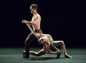 Hubbard St dancers Garrett Anderson and Alice Klock.