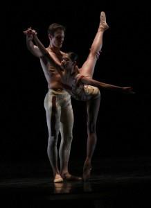 Joffrey Ballet's Christine Rocas & Rory Hohenstein in Val Caniparoli's