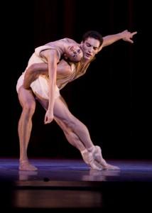 Joffrey Ballet's Fabrice Calmels & Victoria Jaiani in Edwaard Liang's