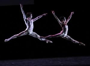 Joffrey Ballet's John Mark Giragosian & Yumelia Garcia in Val Caniparoli's