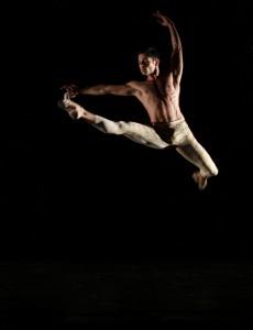 Joffrey's Ballet's Lucas Segovia in Val Caniparoli's