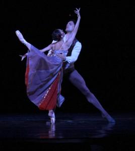 Joffrey Ballet's Victoria Jaiani & Fabrice Calmels in Jerome Robbins'
